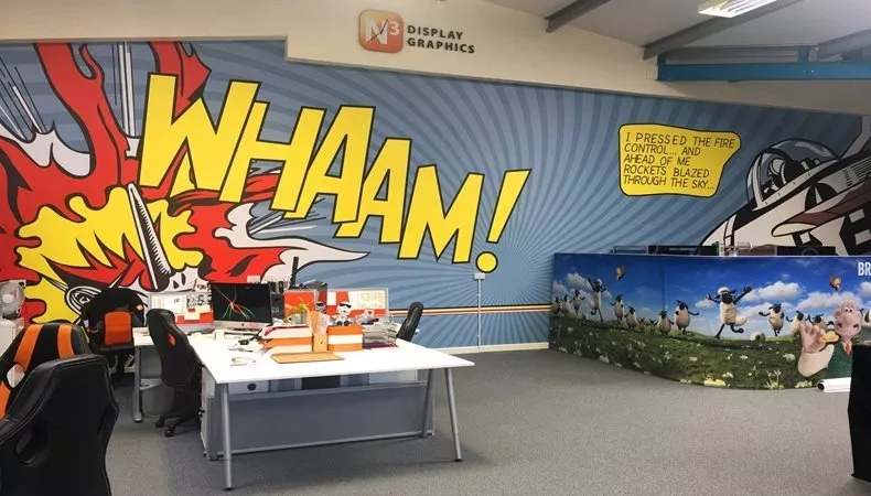 """Whaam!""display"
