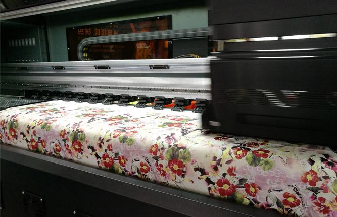 Thermal transfer process of digital printing machine