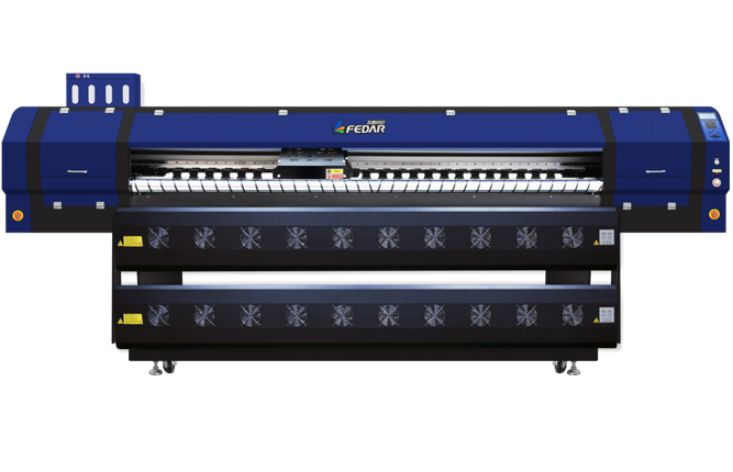 Preparations for installing a new fedar sublimation printer