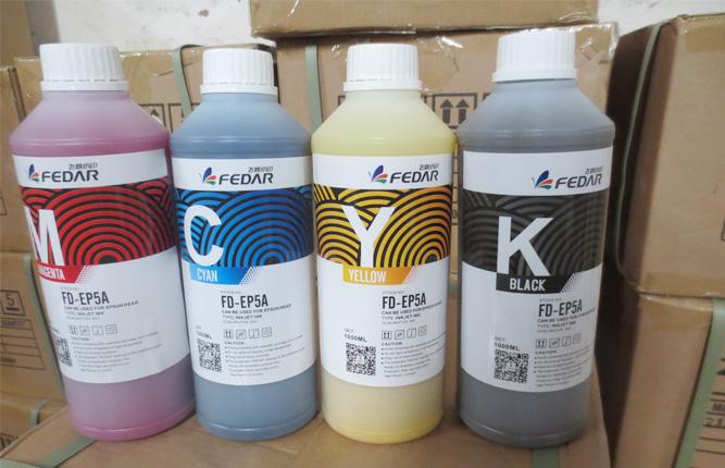 Using Origina Ink for Fedar Inkjet T Shirt Printer Head