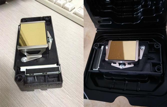 Fedar Heat Transfer Printer Nozzle Missing